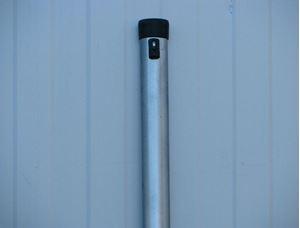 Obrázek z Plotový sloupek pozinkovaný – délka 2600 mm Ø 48 mm