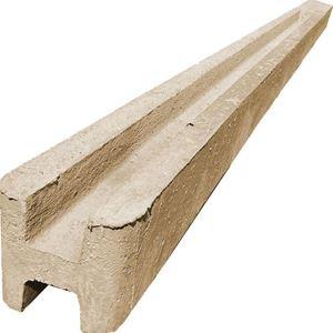 Obrázek z Betonový sloupek pískovec průběžný hladký 1000 + 600 mm