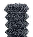 Obrázek Poplastované pletivo antracit 125 cm vysoké kompaktní role bez napínacího drátu